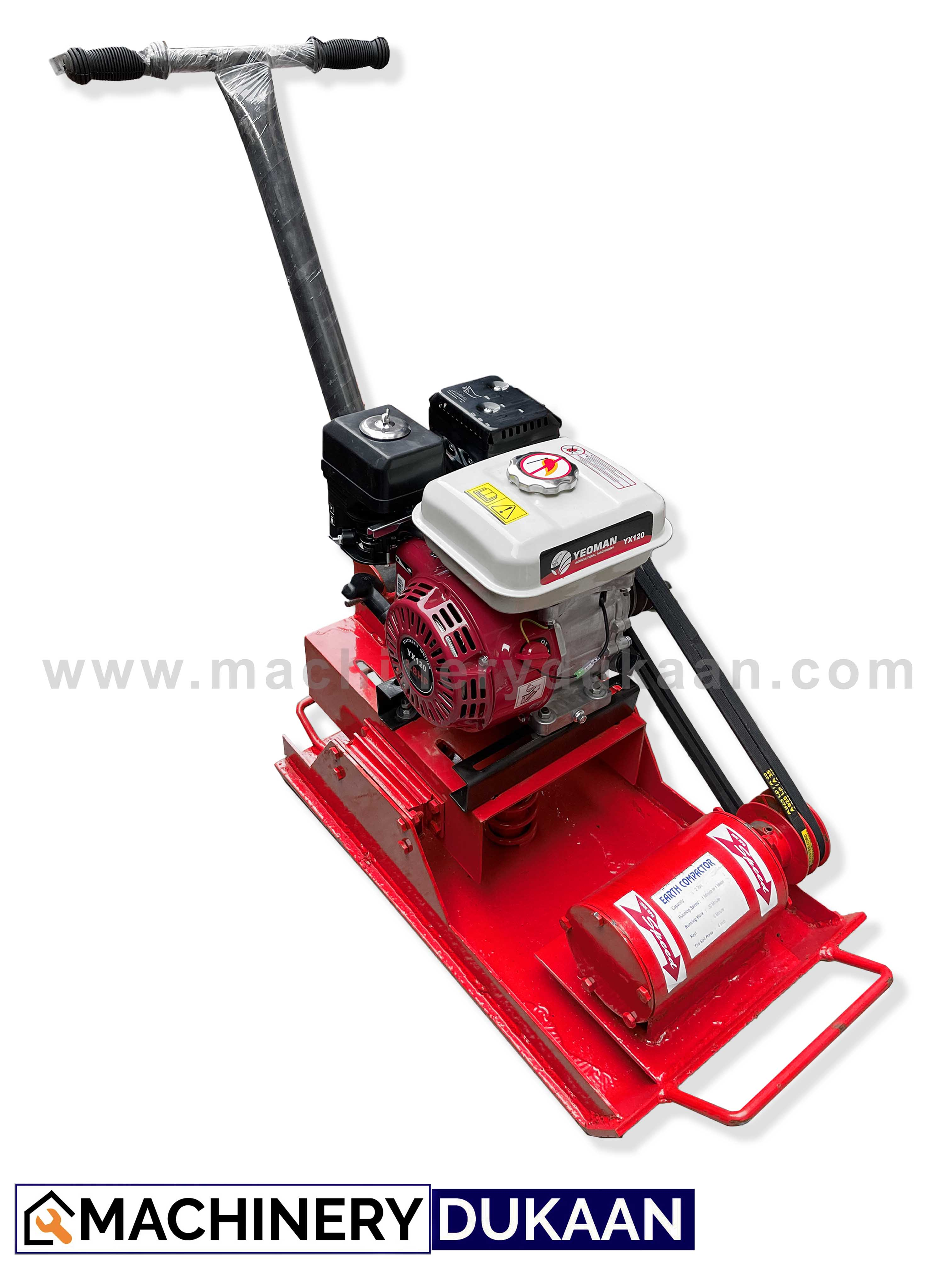 Plate Compactor With Petrol Engine