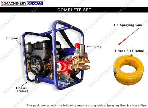 Briggs & Stratton HTP Power Sprayer Set Complete 22L