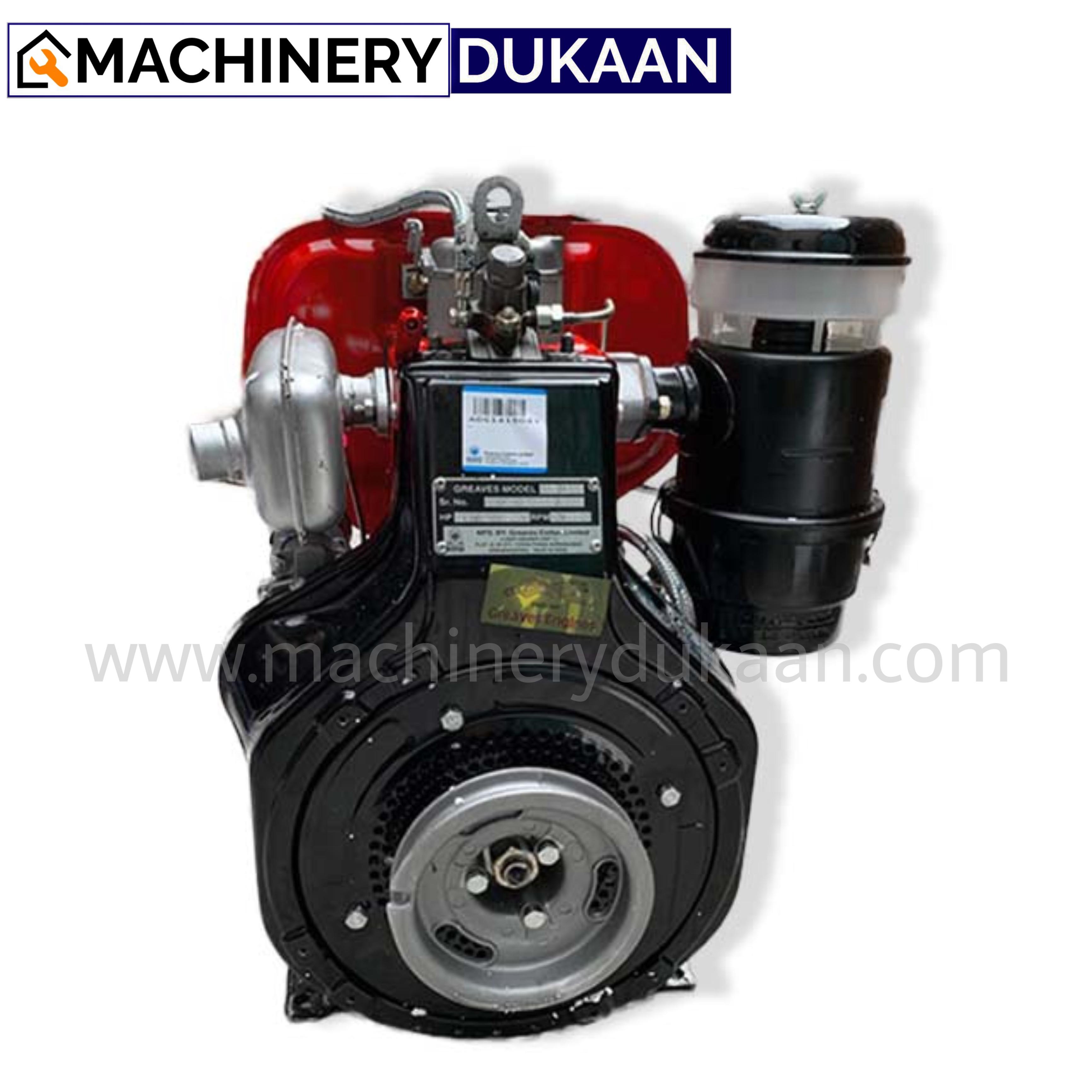 Greaves 1510 Diesel Engine Electric Start
