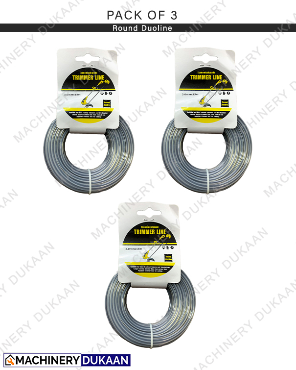 Round rope for Brush cutter / Grass Cutter