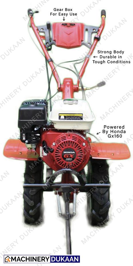 Honda Power Weeder 5 HP  Engine Power Tiller GEAR DRIVEN