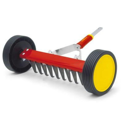 Roller Rake For Lawn Attachment by Wolf Garten