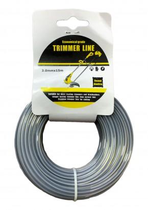 Round Trimmer line for Brush cutter / Grass Cutter 15M roll