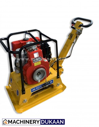 Reversible Plate Compactor With Greaves Engine